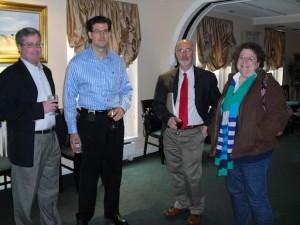 Left to Right:  Mark Del Bianco, Ed Sharkey, Unidentified, Ronnie LNU