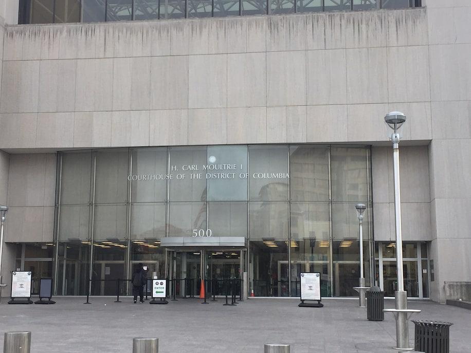DC Superior Court front