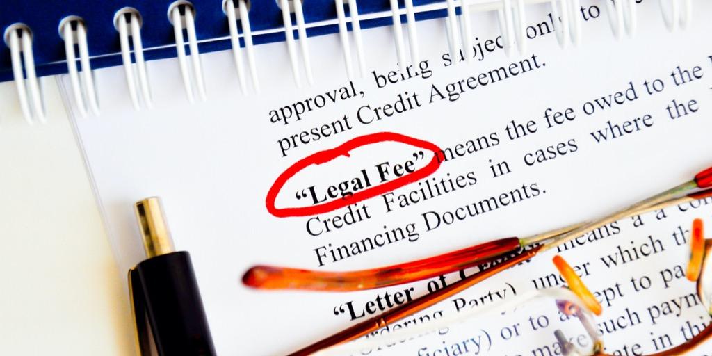 legal fee in D.C.